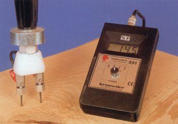 Digital wood moisture measuring equipment - null