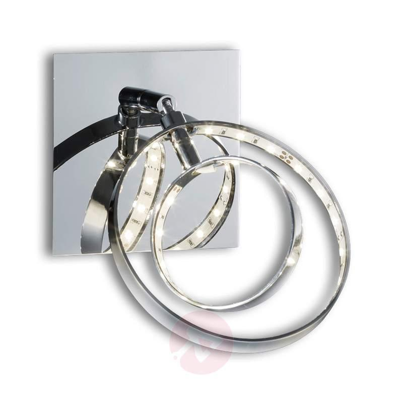 Ring-shaped Prater LED wall spotlight - Wall Lights