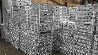 Алюминиевые сплавы в чушках и цилиндрических слитках -