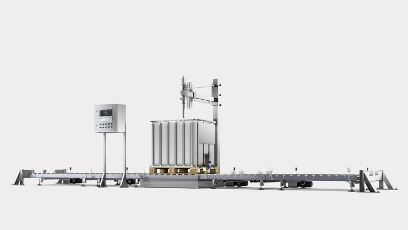 FSL-EVO S Fully Automatic Filling System - Filling systems