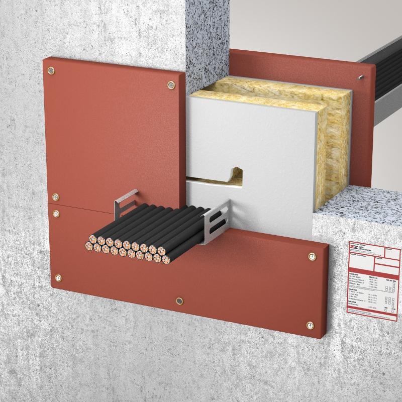 Abschottungssysteme Kombiabschottung - System ZZ-Platte BDS-N