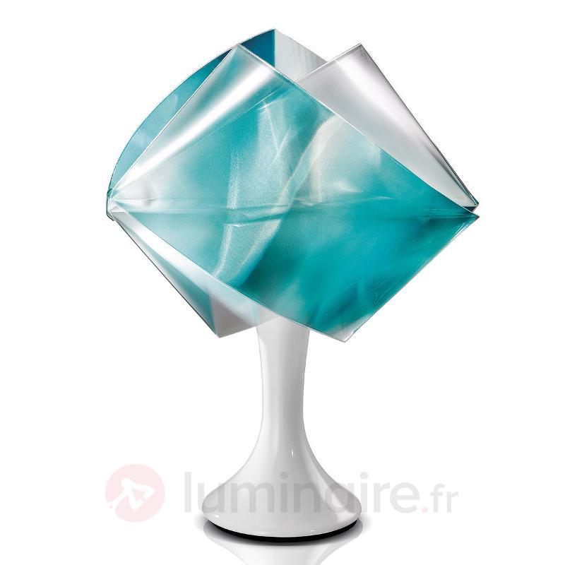 Lampe à poser de designer Gemmy Prisma, vert - Lampes à poser designs