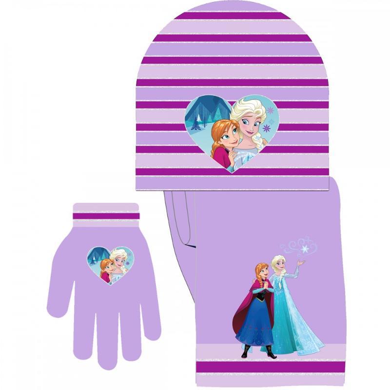 6x Echarpes et bonnets et gants La Reine des Neiges - Bonnet Gant Echarpe