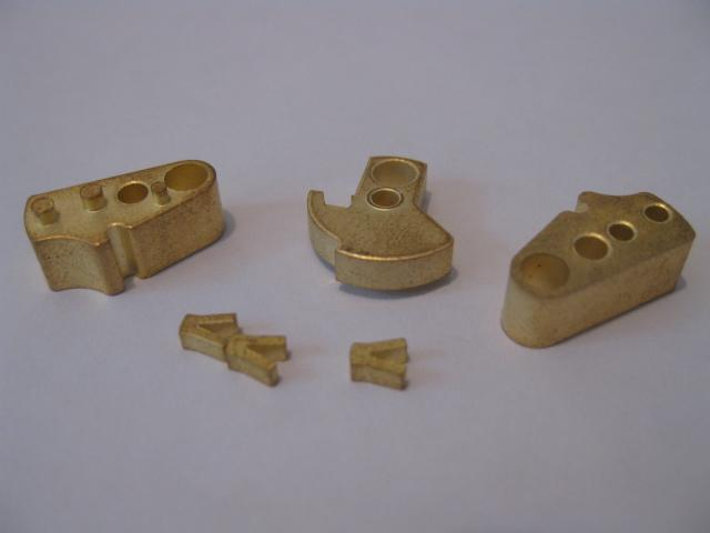 Sintered Brass 40mm fusing rotors - Parts produced for the Military Defense services