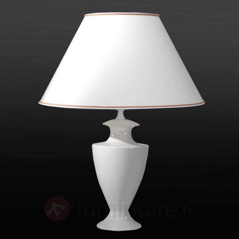 Lampe à poser Ada Craquelet 70 cm - Lampes à poser rustiques