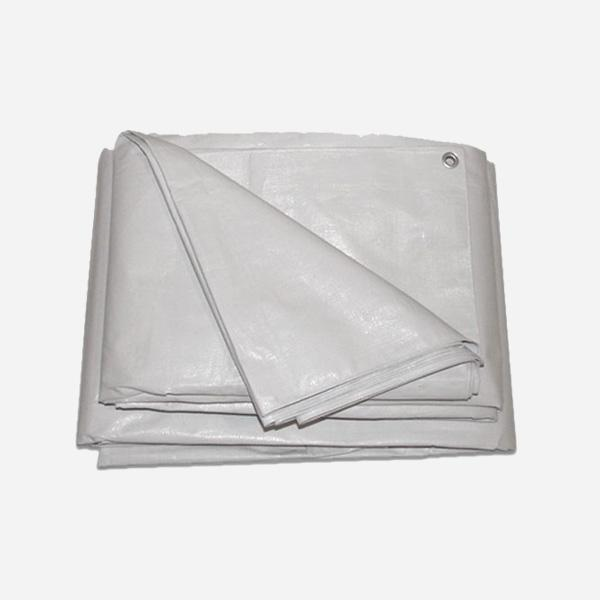 4X6M IFRC PLASTIC SHEET - 4x6m Plastic Sheet used for Disaster Prepardness, white or blue color