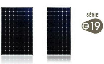 Panneaux Photovoltaïques - Panneau SUNPOWER SPR 245NE-BLK-D