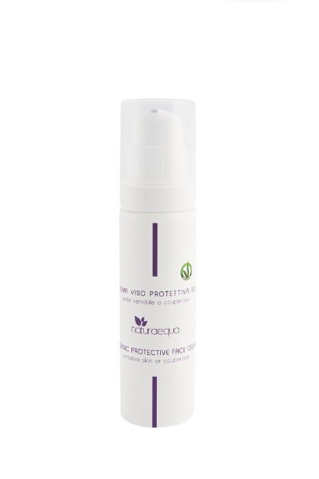 Crema viso protettiva BIO - Per pelli sensibili e delicate