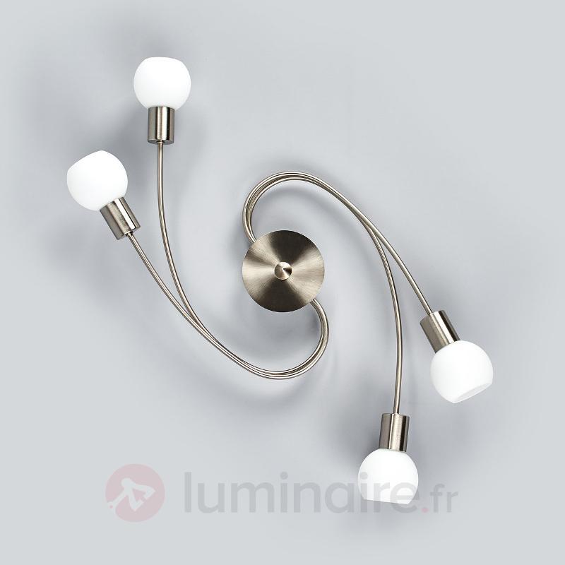 Joli plafonnier LED Seloma, à quatre lampes - Plafonniers LED
