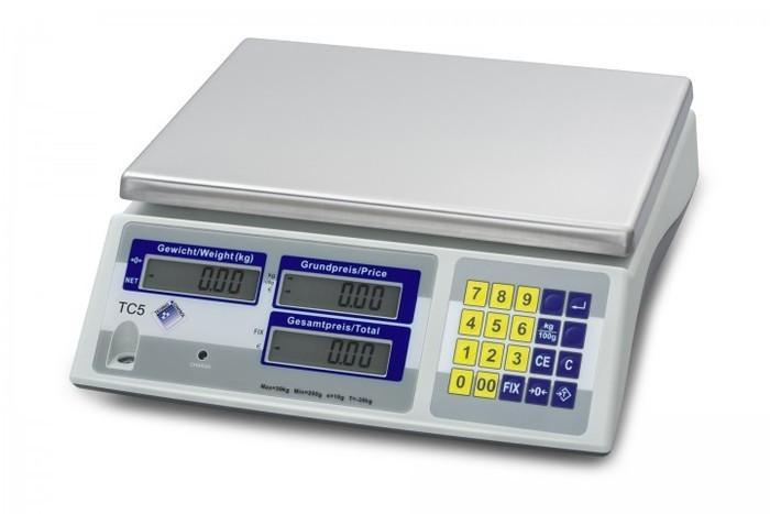 Techno-Control Ladenwaage TC5 6 kg Höchstlast 2 g Teilung - null