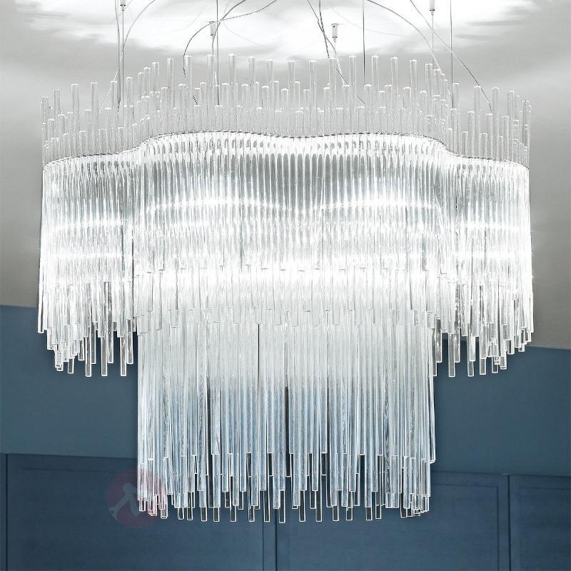 Suspension design DIADEMA transparent, 100 cm - Suspensions design