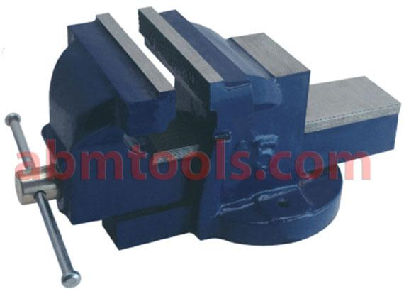 Bench Vice Fixed Base - Horizontal and Vertical 'V' is provided for round section work