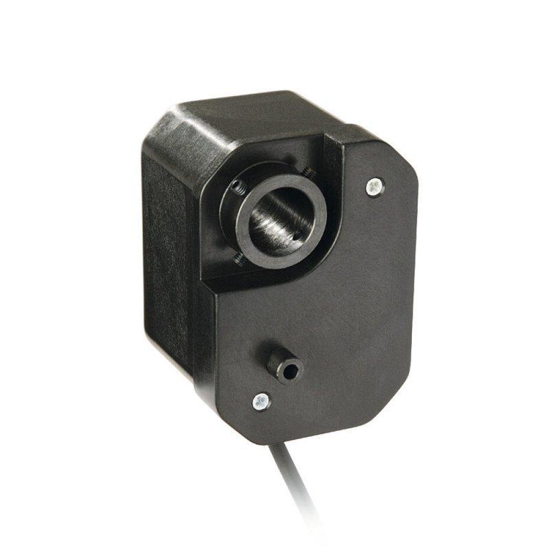 齿轮电位计 GP02 - 齿轮电位计 GP02, 带贯通空心轴的紧密结构设计
