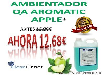 QA AMBIENTADOR AROMATIC - Disponible en cuatro esencias: AROMATIC APPLE, OCEANIC, MAGNOLIA, CITRUS
