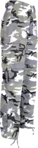 Pantalon Bdu Camo - null