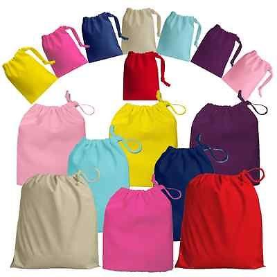 Wholesale cotton jewelry pouches drawstring Bags