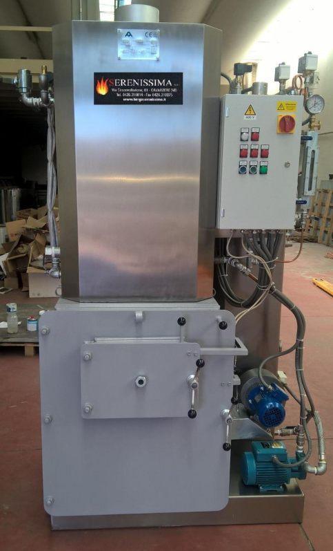 AMCB Generatori vapore compatti a legna, pellet o gas/gasoli - Generatori vapore compatti a legna, pellet o gas o gasolio