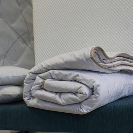Couettes et couvertures - COUETTE SOIE NATURELLE
