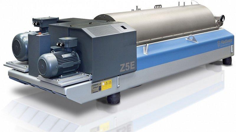 Centrifuga Decanter C2E - La centrifuga decanter C2E per la disidratazione dei fanghi