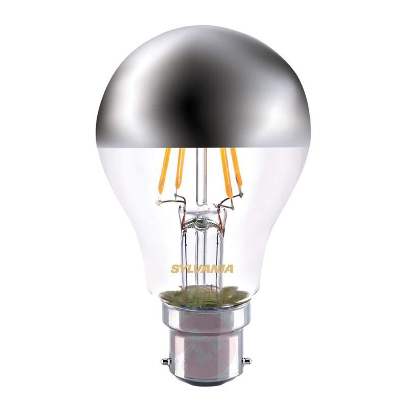 B22 4W 827 LED half mirror bulb - light-bulbs