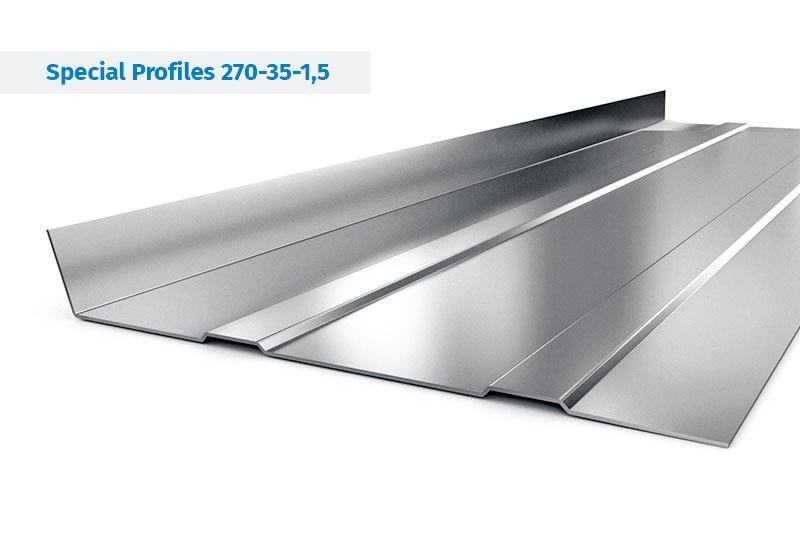 Stahlprofile für Auflieger und Aufbauten - Stahlprofile für Fahrzeugaufbauten, Aufliegern und Anhängern