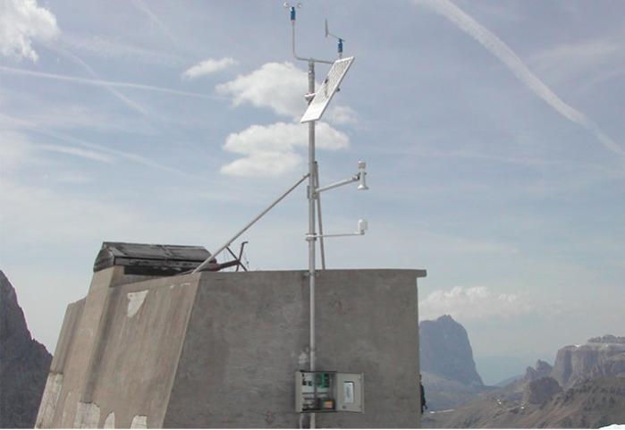 Estación meteorológica automática AWS -