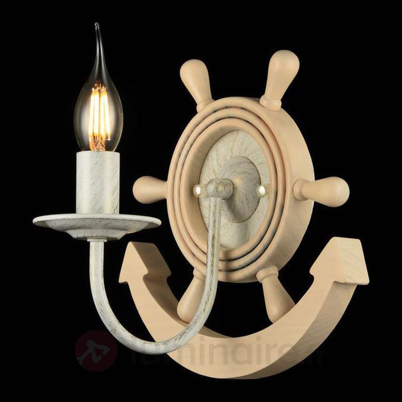 Applique en bois Frigate au look marin - Appliques en bois