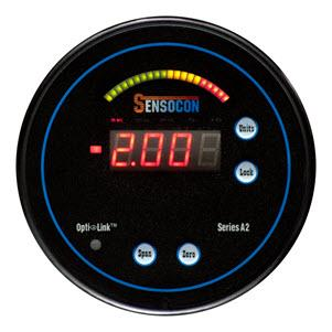 Digital Differential Pressure Gauge - Arch - Sensocon Series A2