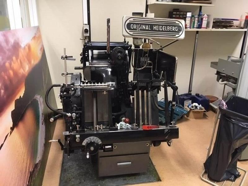 Heidelberg T - Used Machine