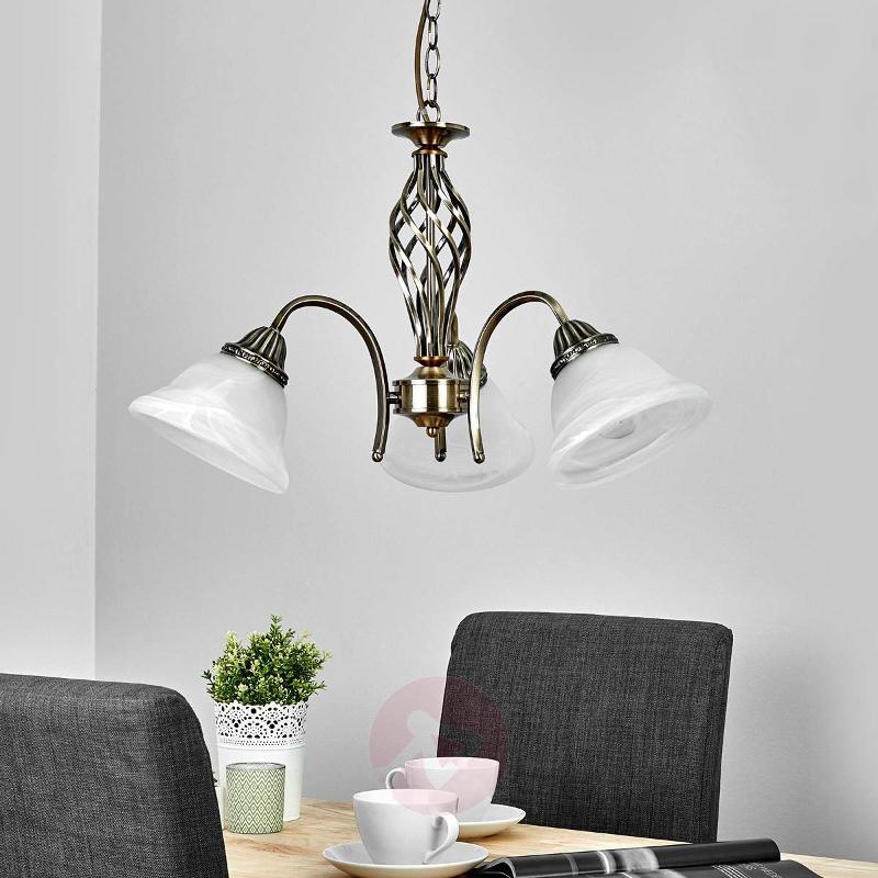3-bulb pendant light Mialina - Pendant Lighting