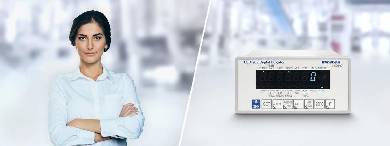 Wägeindikator CSD-903 - Wägeelektroniken