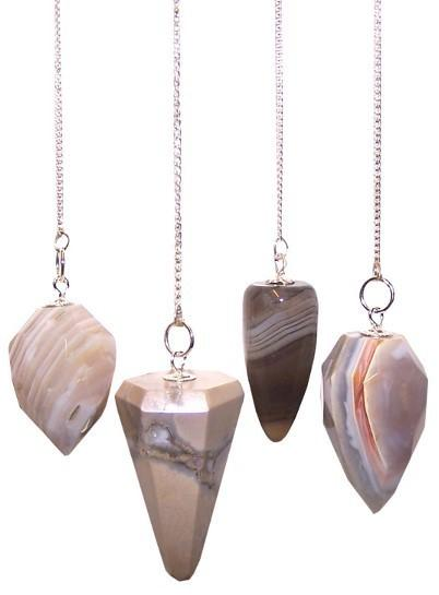 Gemstone Magic Pendulums - Wholesale Gemstone Magic Pendulums 3x