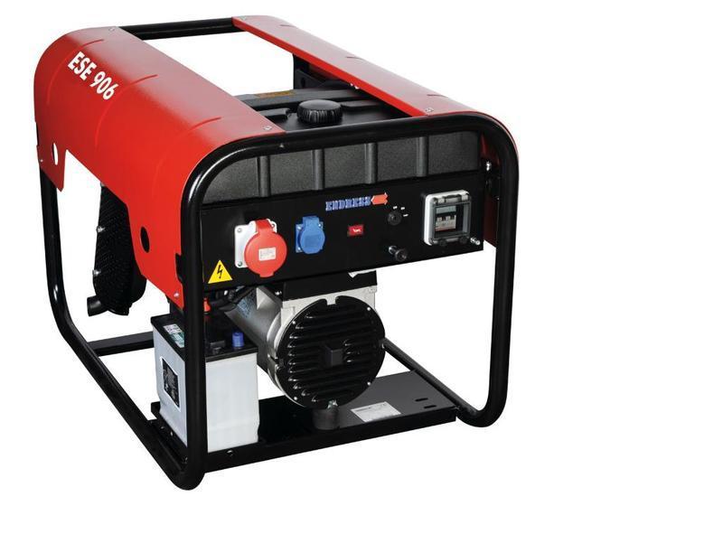 POWER GENERATOR for Professional users - ESE 906 LS ES Diesel