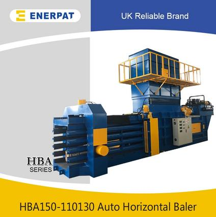 Fully Automatic Horizontal Corrugated Paper baler - Horizontal Baler Horizontal Baling Applications