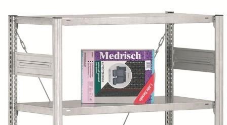 Deckboden für Schlauchregal Typ SRF Regalbreite: 1000... - Regale