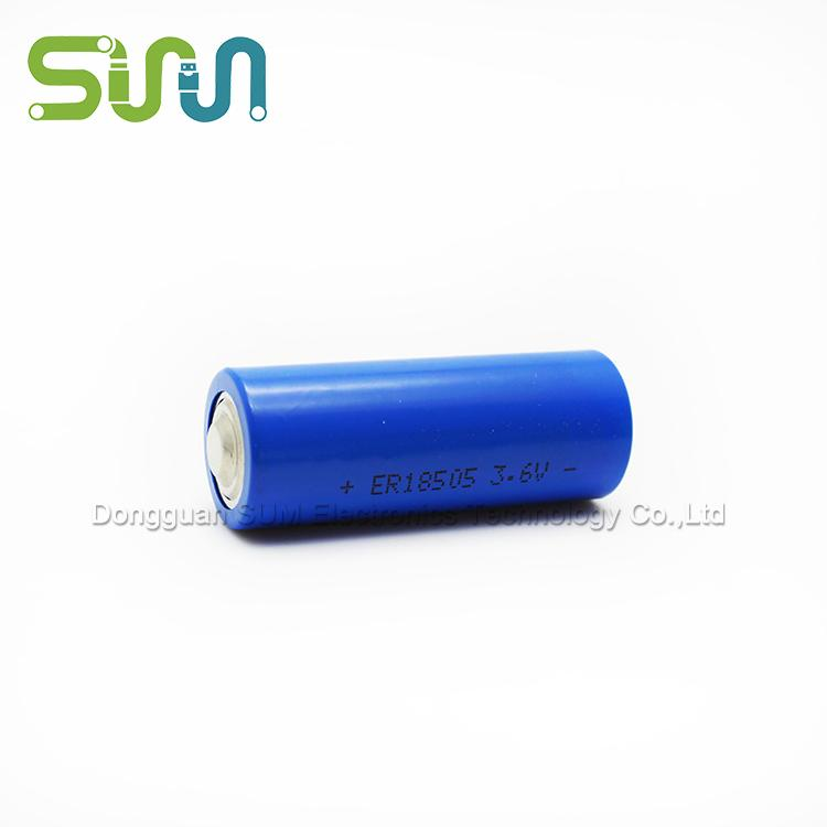 Lithium-thionyl chloride batteries ER18505 packs a 4000mAh - Lithium-thionyl chloride batteries