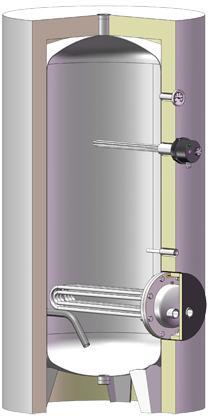 Chauffe eau  - série PRESTIGE INOX
