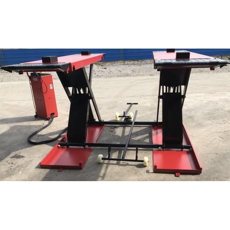 OreikO HY3512 pont ciseaux mobil - 220V - 3500kg - CE - Ponts ciseaux