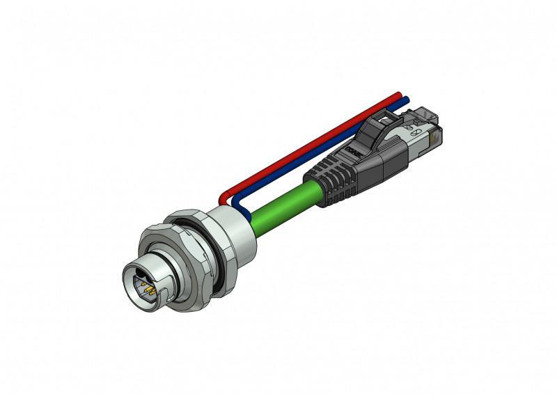 B12 Hybrid Einbauflansche - CONEC Hybrid Einbauflansche Baugröße B12