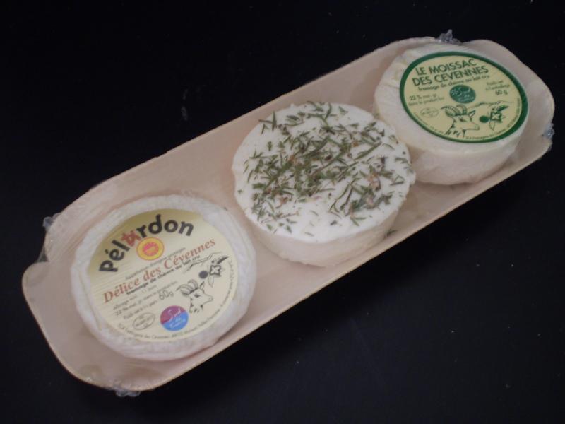 """Barquette """"Découverte"""" 1 Pélardon + 1 chèvre frais... - Produits laitiers"""