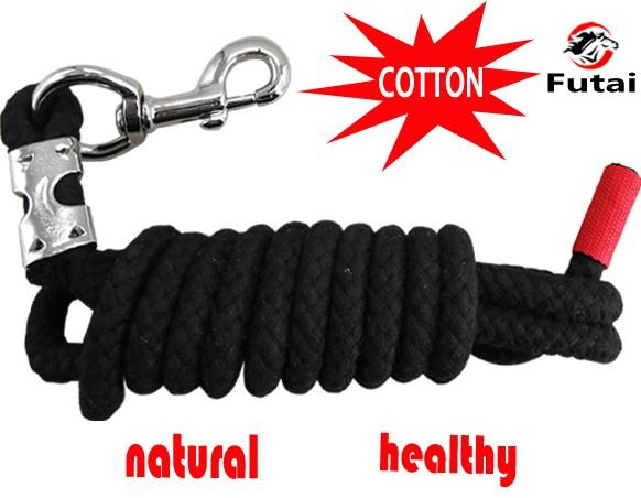 cotton horse lead rope,14MM thick cotton rope,110 gram  - horse lead rope,pet's lead rope,cotton material