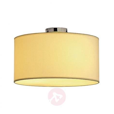 SOPRANA 2 Timeless Elegant Ceiling Lamp, White - design-hotel-lighting
