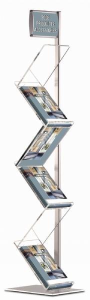 Brochure Sets - Porte Brochures Zickzack