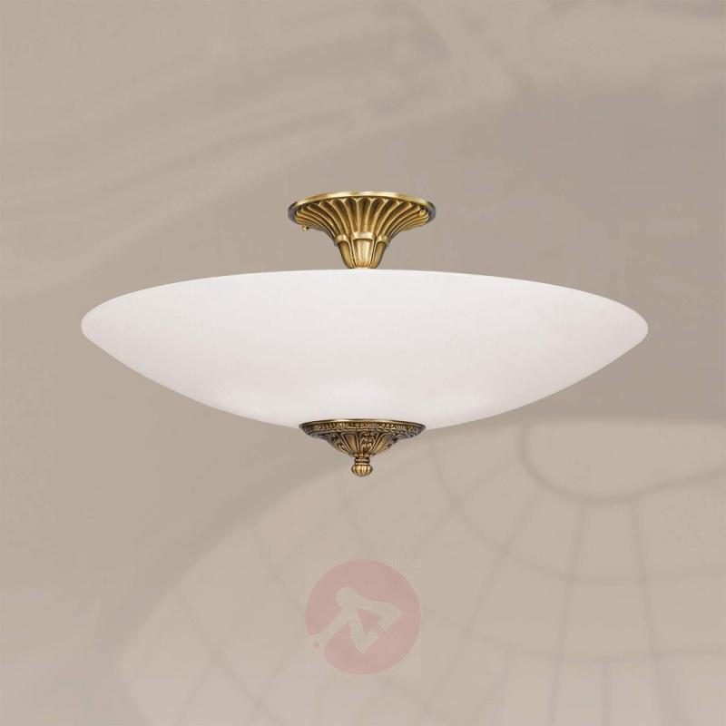 Stylish ceiling light SERGIO, 40 cm - design-hotel-lighting