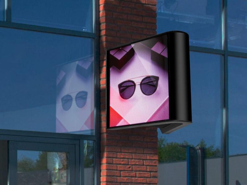 Enseigne lumineuse LED - Ecrans Géant Led