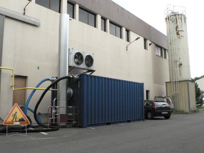 Chaufferies eau chaude mobiles - Chaufferies de 500kW à 2.500kW