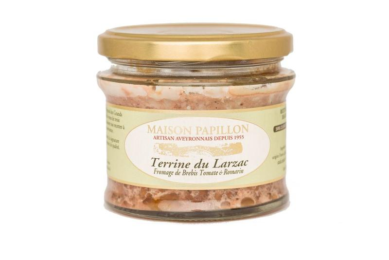 Terrine Tradition - FROMAGE BREBIS TOMATE et ROMARIN - Epicerie salée