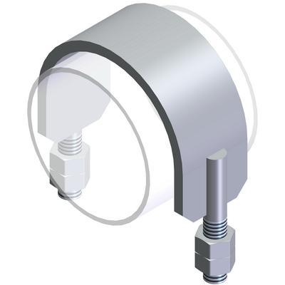 U-bolts and flat steel bolts - Type SBS S235JR, raw