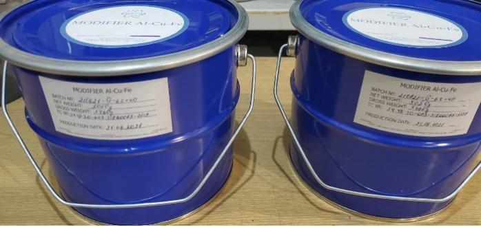 Polvere quasicristallina Al-Cu-Fe; Al-Cu-Fe+B; Al-Cu-Fe+Si - Riempitivo per polimeri ed elastomeri, materiali compositi, attrito ridotto