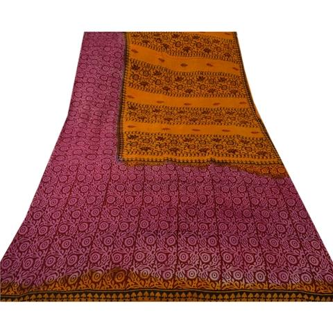 Pure Cotton Saree(Antique)